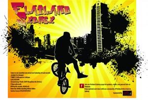 Flyer Flatland Sydney Monthly Jam